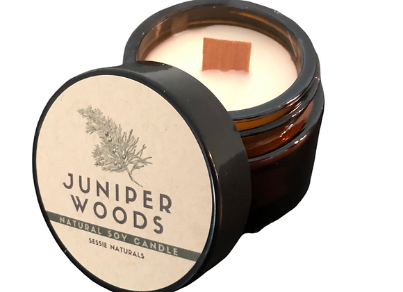 Juniper Woods Natural Soy Candle