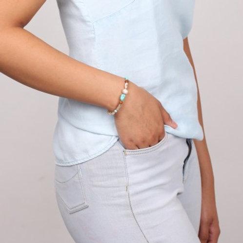 Bracelet extensible fin Mangareva