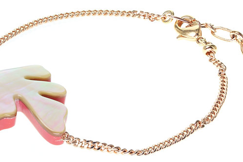 Bracelet feuille Hybride