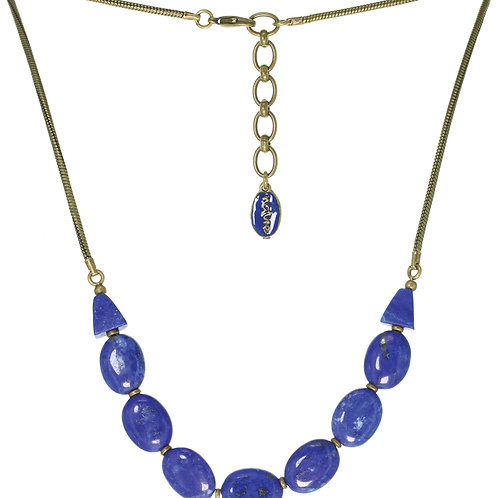 Collier galets Azul