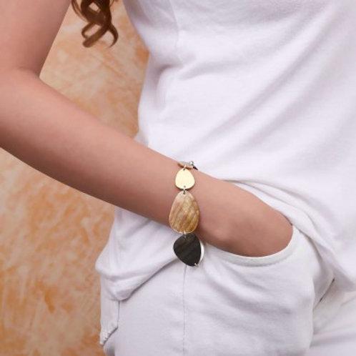 Bracelet huit nacres Echappée Belle