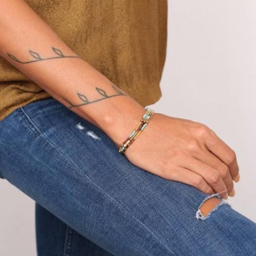 Bracelet 3 rangs Colette