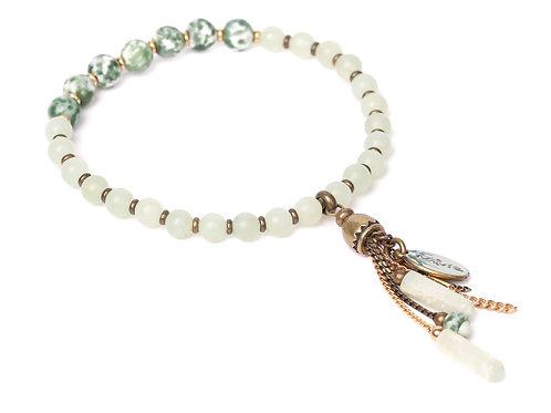 Bracelet extensible et pampilles Veracruz