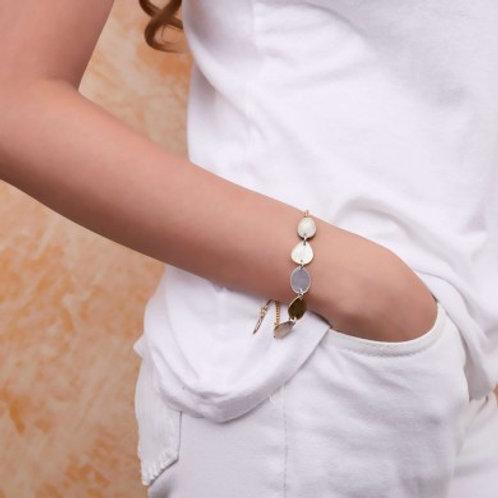 Bracelet chaine dorée Echappée Belle