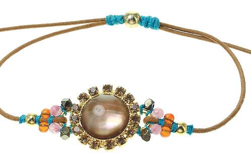 """Bracelet fin """"macramé"""" Adelina"""