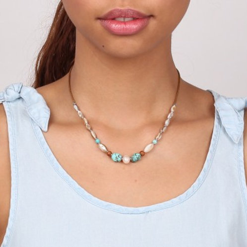Collier simple Mangareva
