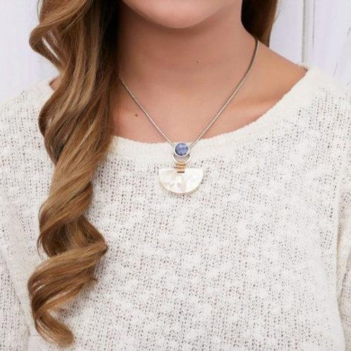 Collier petit pendentif Santorini