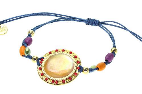 "Bracelet ""macramé"" simple Lorenza"