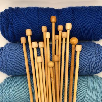 Beginner Knitting 1 Sept 29, Oct 6,13, 20 11-12:30 Pacific Time