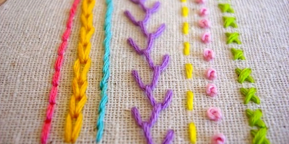 Adult Beginner Embroidery