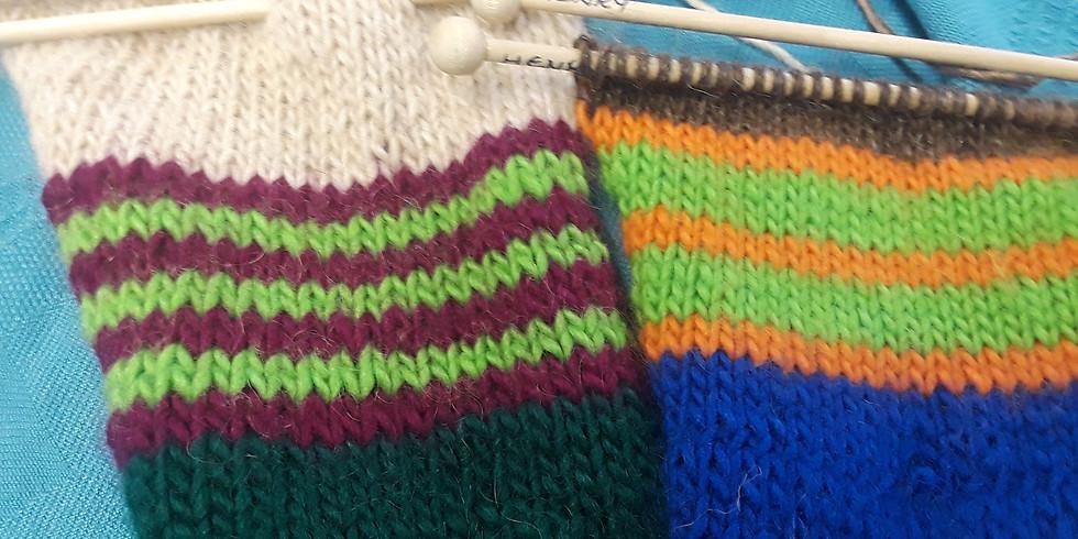 Adult Intermediate Knitting