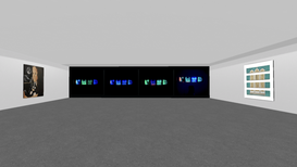 My Work: RGB 'Screens' (in-situ)