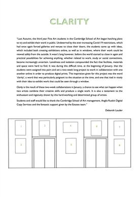 Press Release & Works Plan