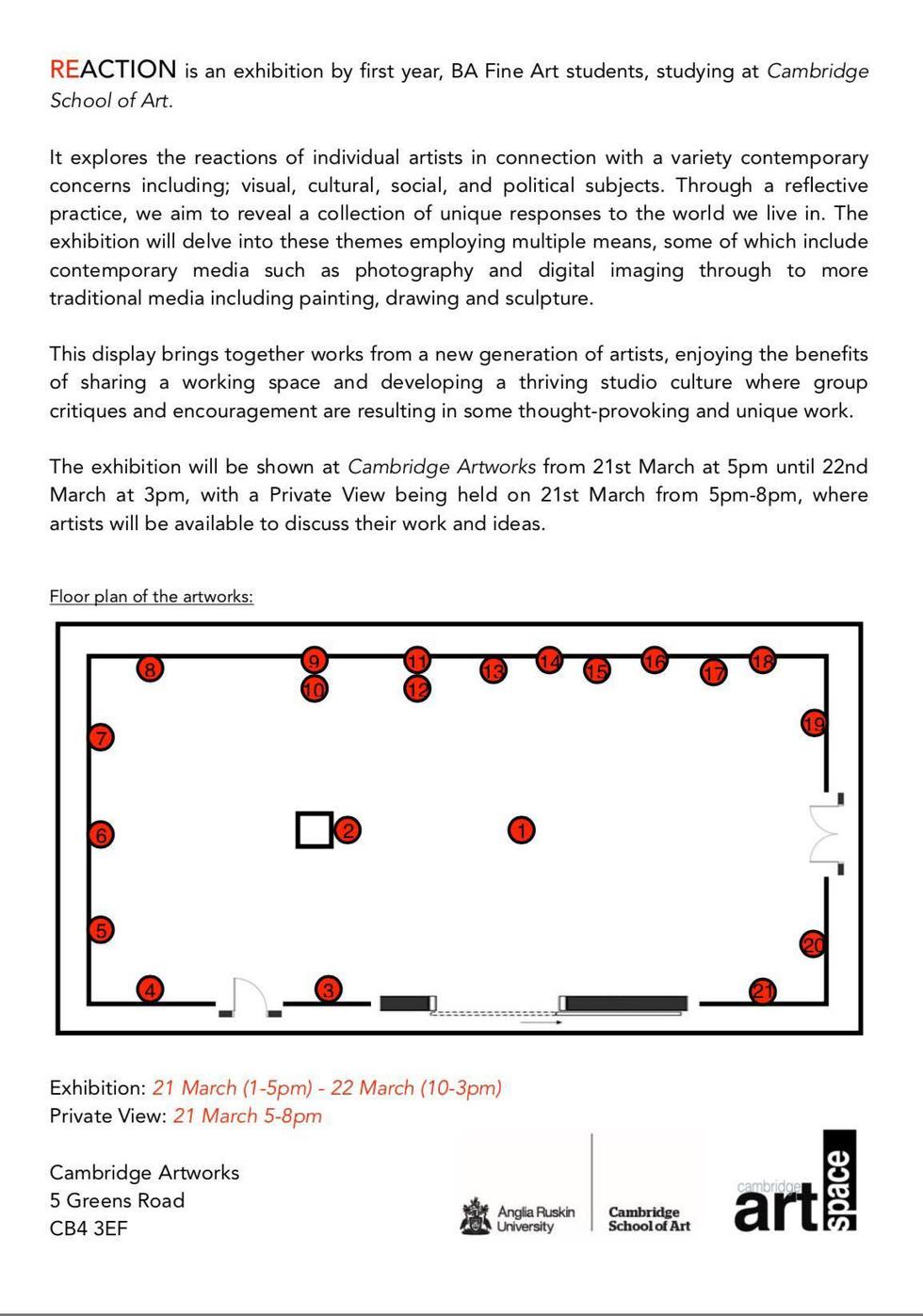Press Release & Gallery Plan