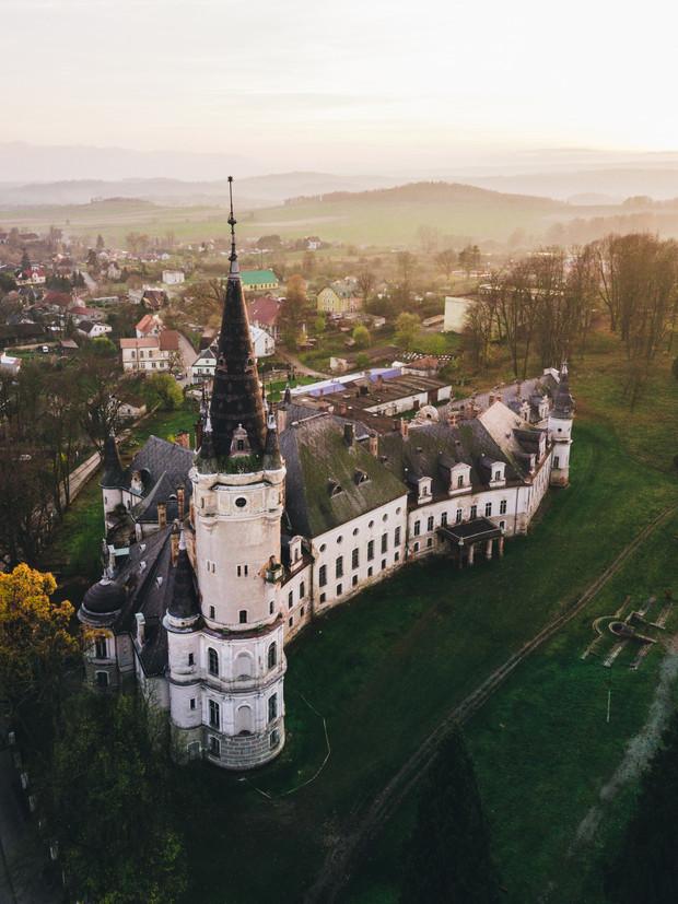 Заброшенный замок