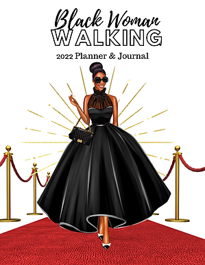 Black Woman Walking 2022 Planner & Journal.png