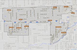 Road data © OpenStreetMap contributors.