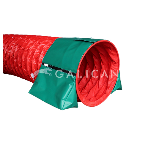 Triangular sandbags velcro