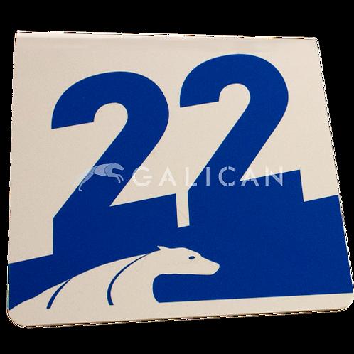 Aluminum Number Set 1-22
