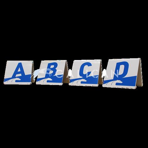PVC Letter Set A-D