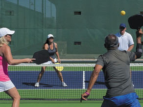 The powerful play of pickleball-Harvard Men's Health Watch
