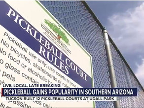 Tucson is a pickleball paradise