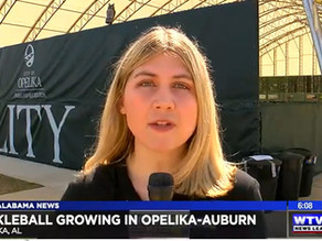 Pickleball growing in Opelika-Auburn, provides tourism opportunities