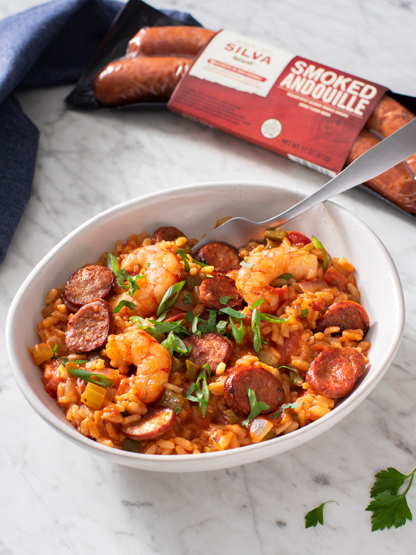 Risotto Jambalaya with Andouille