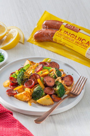 Sliced Linguica With Roasted Vegetables & Potatoes-054.jpg