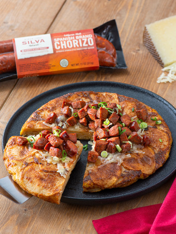 Spanish Chorizo Tortilla