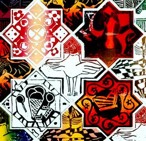 Linodruk Mosaiek