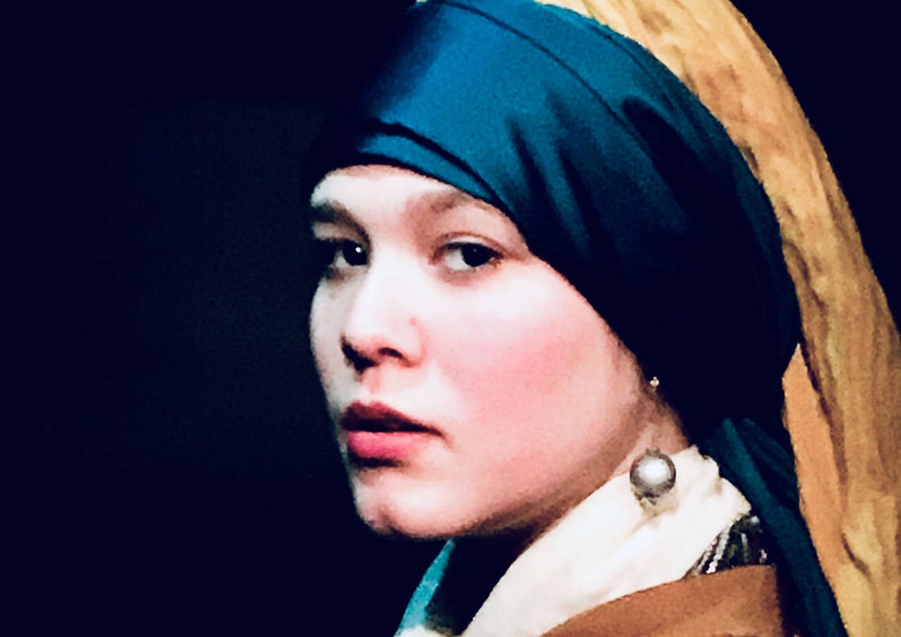 In de stijl van Johannes Vermeer