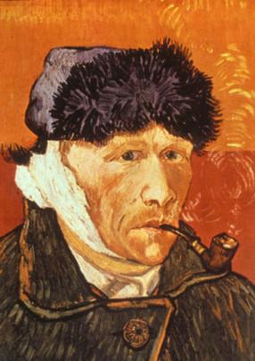 Zelfportret met afgesneden oor 1889
