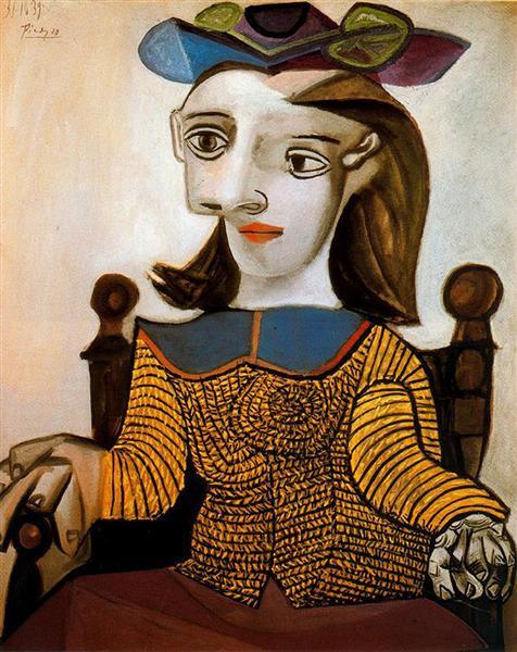 Le chandail jaune (Dora Maar) 1939