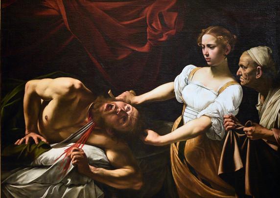 Judith onthoofdt Holofernes 1599