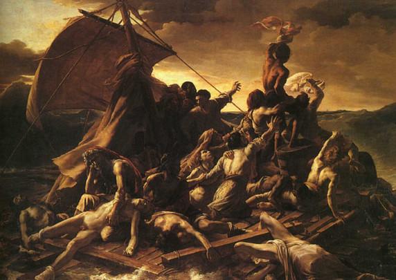 Vlot van Medusa 1818-1819
