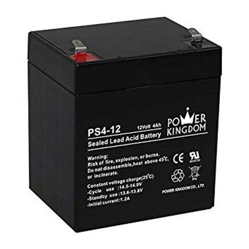POWER KINGDOM Sealed Lead Acid Maintenance Free Battery