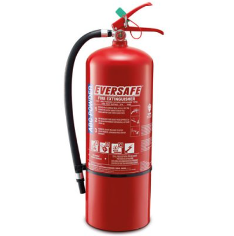 Eversafe 9kg ABC Dry Powder Portable Fire Extinguisher