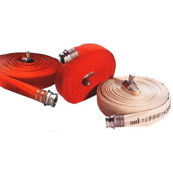 SRI 10 Bar 65mm x 30m Fire Hose c/w Coupling