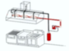 Kitchen Hood Wet Chemical Fire Suppression System - Image 1