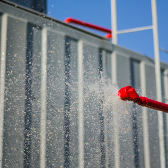Fire-Water Spray Systems Principle