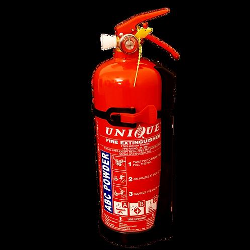 UNIQUE 2kg ABC Dry Powder Portable Fire Extinguisher