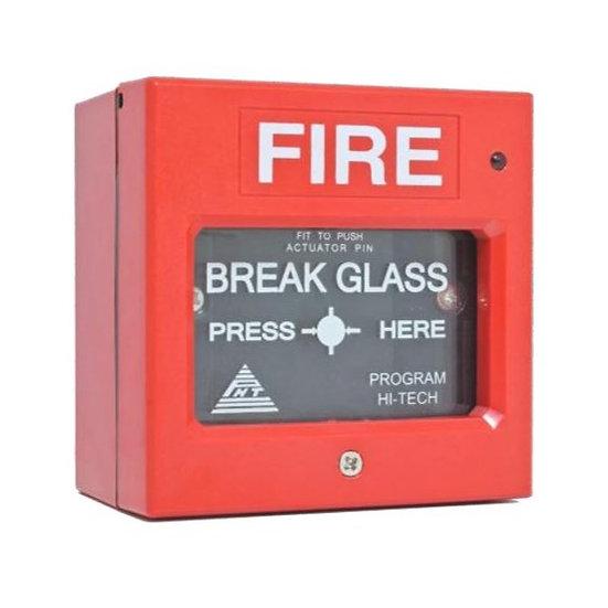 PHT-MCP Addressable Manual Breakglass c/w Monitor Module