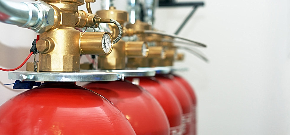 Clean Agent Fire Suppression System - BAnner