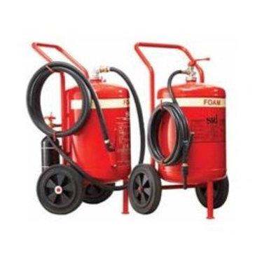 SRI 45L Foam Fire Extinguisher On Trolley EN1866