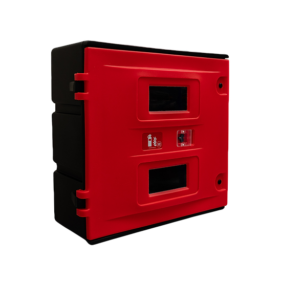 Jonesco JBKE90 Double Fire Extinguisher Cabinet