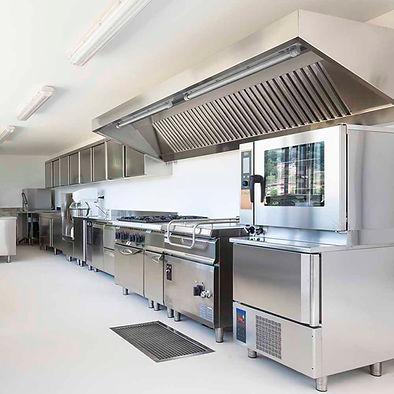 Kitchen Hood Wet Chemical Fire Suppression System - kitchen-flip