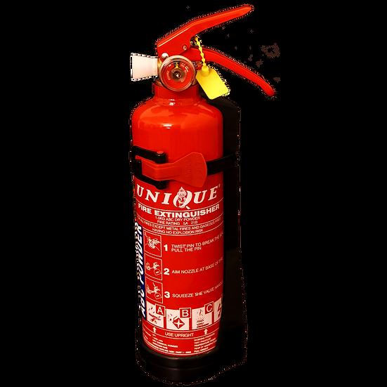 UNIQUE 1kg ABC Dry Powder Portable Fire Extinguisher