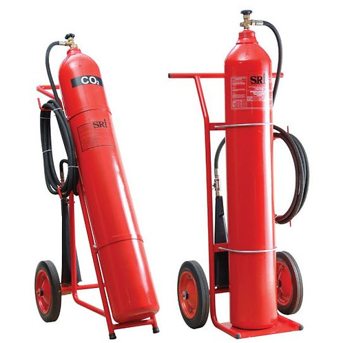 Trolley Carbon Dioxide Fire Extinguisher