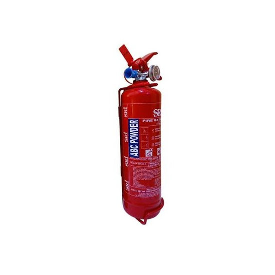 SRI 1kg ABC Dry Powder Portable Fire Extinguisher